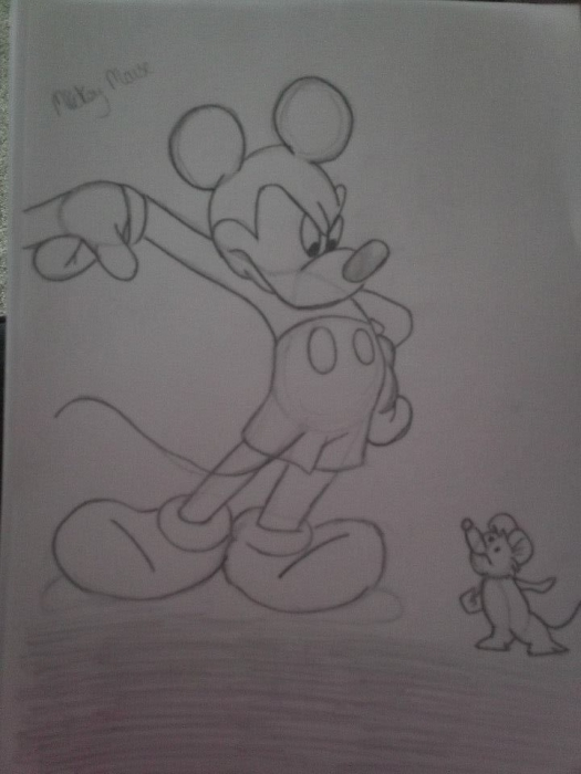 Mickey Mouse by kerrysh